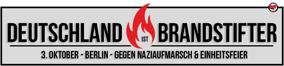 Deutschland ist Brandstifter!